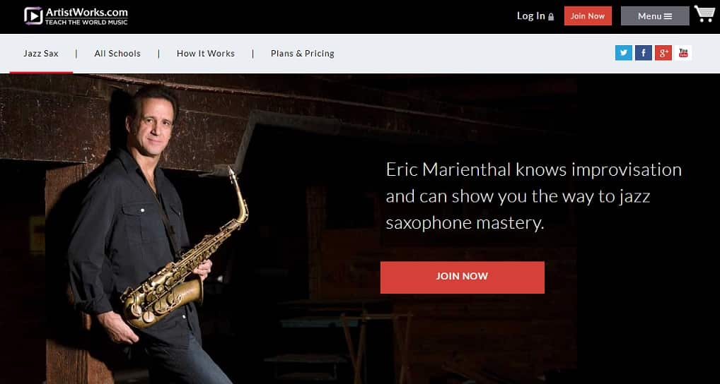 artistworks Saxophone Lessons for Beginners