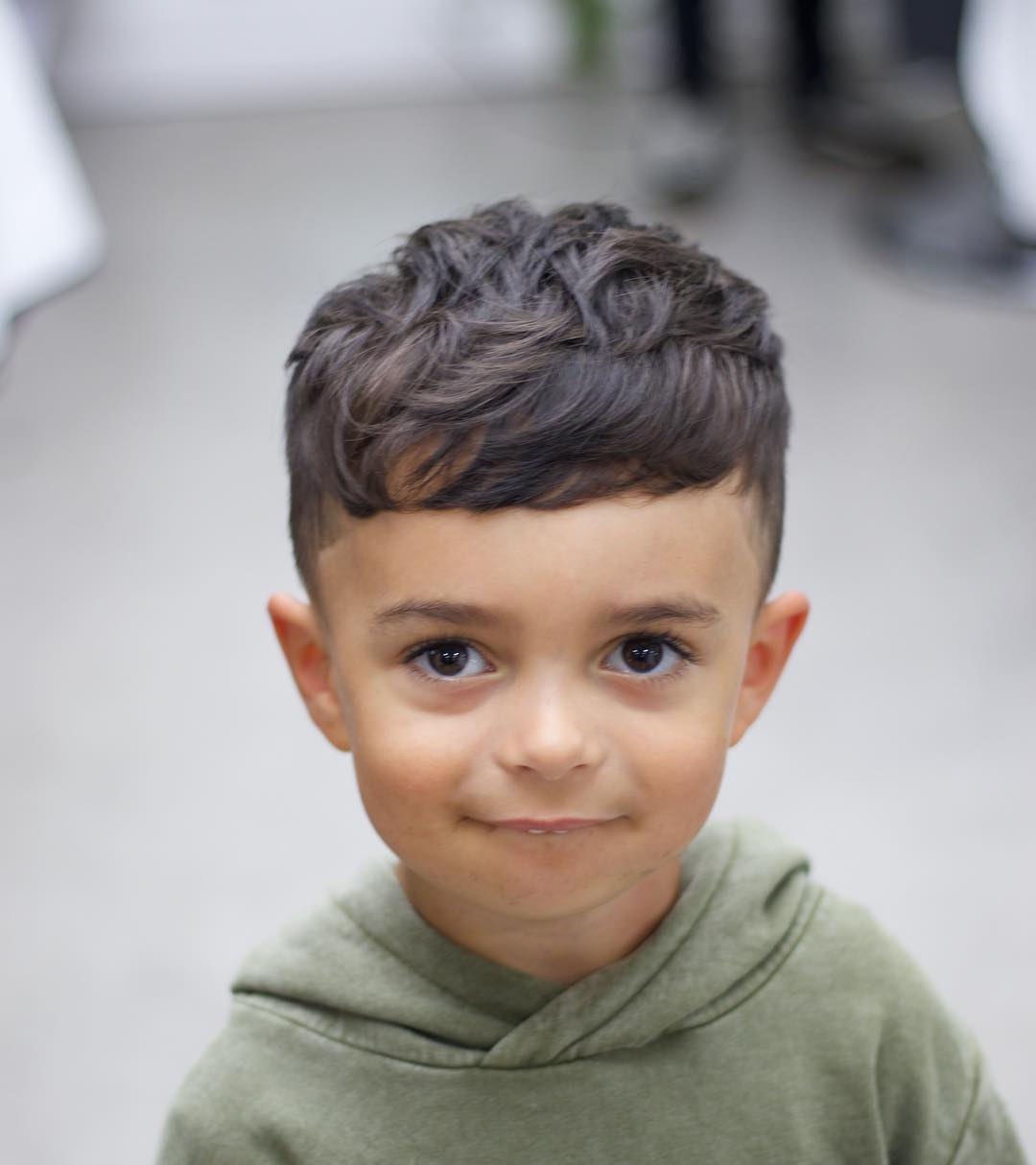 Haircuts for little boys