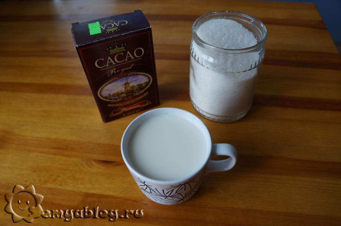 Варим шоколад из какао порошка