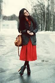 Пальто с юбкой ниже колена