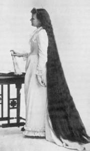 волосы 19 века