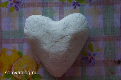 как сделать обычное соленое тесто