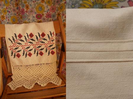 полотенце (вышивку и окантовку делала не я)