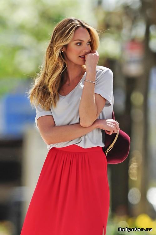 юбка в пол с блузкой