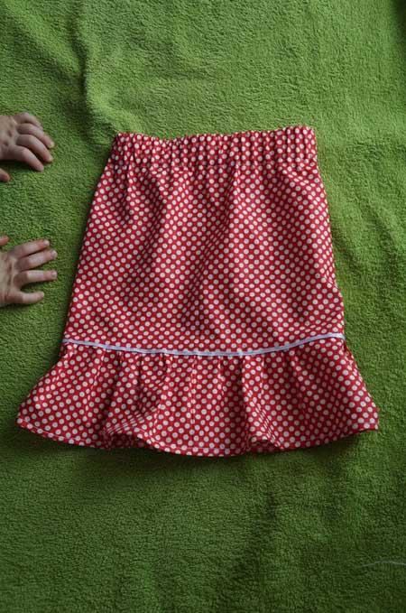 детская юбочка