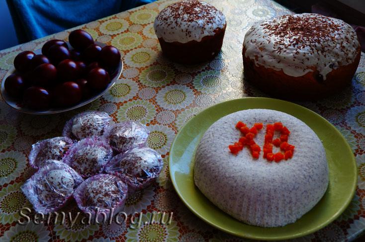 Рецепт пасхальных куличей в формочках для кексов2