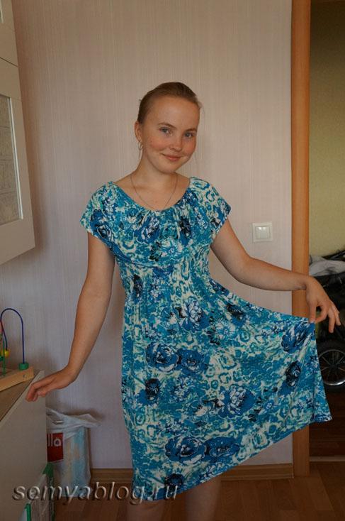 как сшить платье для кормления