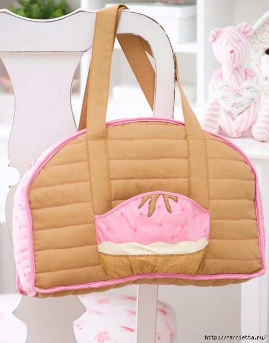 сумка для мамы или коляски своими руками МК