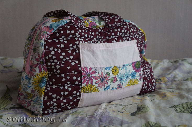 фото сумки для мамы или коляски своими руками