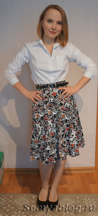 Базовый гардероб без брюк. Белая рубашка2