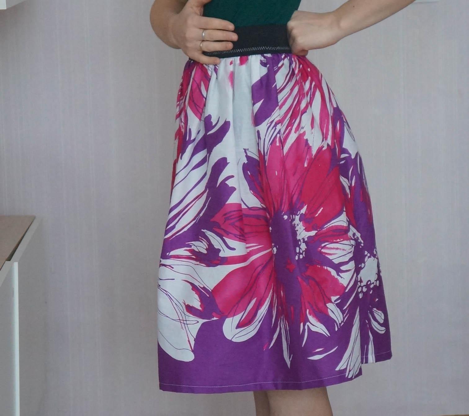 Сшить юбку своими руками просто и быстро