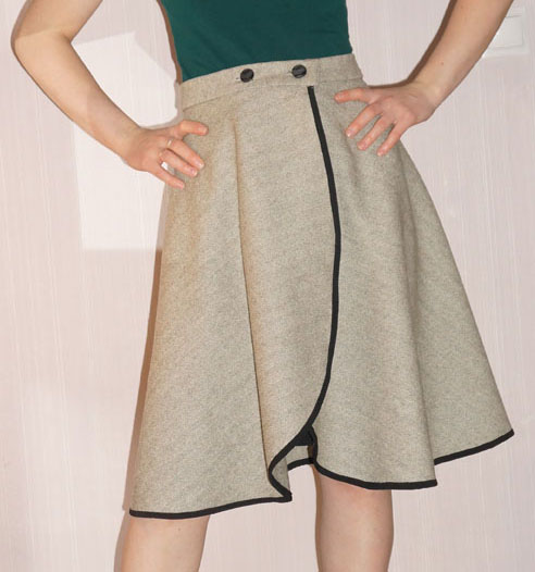Сшить юбку просто и легко