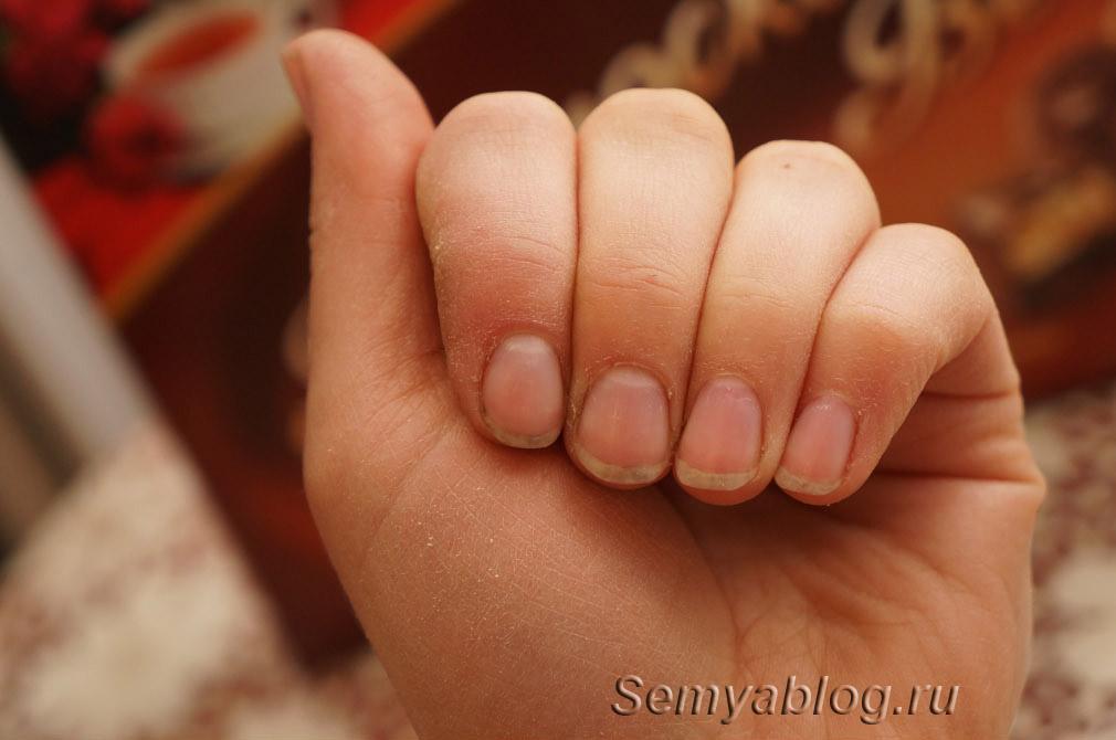 Отмыть ногти после огорода