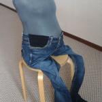 Как сшить джинсы или юбку для беременных без швейной машинки