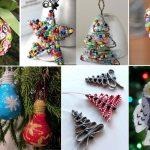 Елочные игрушки с детьми – Новогодние ёлочные игрушки своими руками